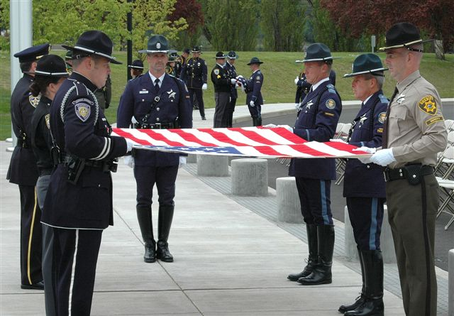 oregon state police memorial donation offical site