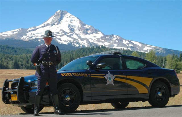 fundrasier for the oregon state police